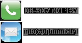 Dj Timmid Contact Info