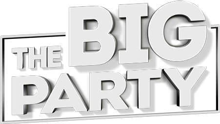 The Big party logo
